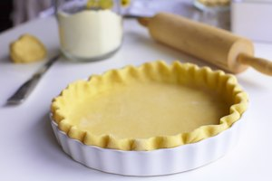 How to Bake an Unfilled Pie Crust