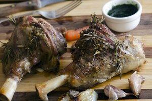 How to French Trim Lamb Shanks