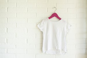 How to Make a T Shirt Smaller By Cutting It