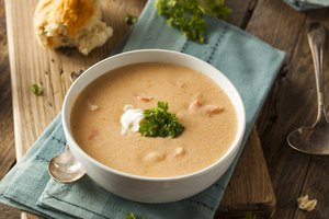 How to Add Cream to a Hot Soup