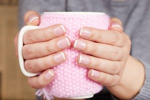 How to Remove a French Manicure