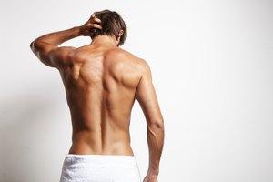 How to Make a Men's Towel Wrap