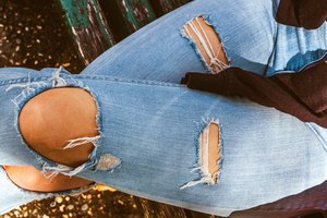 How to Rip Jeggings