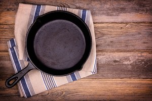 How to Season a Cast Iron Skillet in a Fire