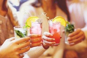 Mixed Drinks With Bacardi Razz