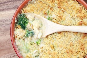 Recipe for Broccoli Casserole With Cream of Mushroom Soup