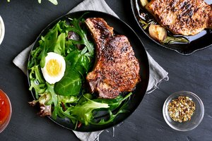 How to Bake Frozen Pork Chops
