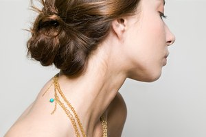 How to Remove Tangled Hair From a Necklace