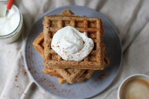 How to Turn Pancake Mix Into Waffles