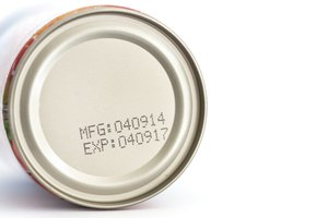How to Read the Expiration Dates on Canned Food