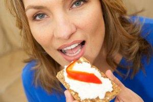 Las calorías en una cucharada de queso crema