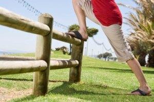 Estiramientos para muslos doloridos