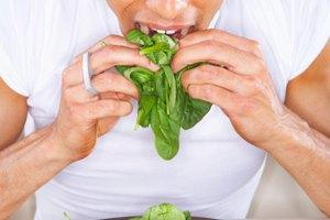 Una lista de hojas comestibles