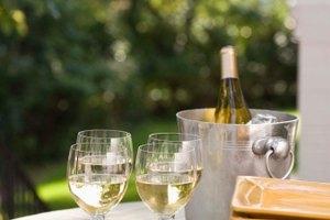 Carbohidratos y calorías en una botella de vino