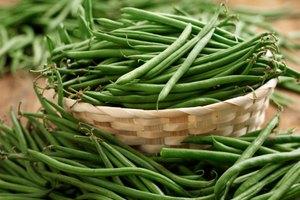 Información nutricional de los frijoles verdes