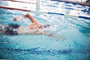 Tipos de carreras en las competencias de natación