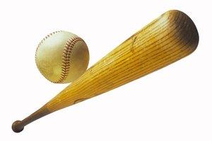 ¿Cuáles son las dimensiones de un bate de béisbol de madera?