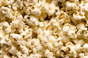 El gluten en las palomitas de maíz