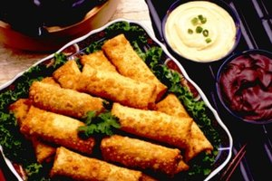 How to Freeze Egg Rolls