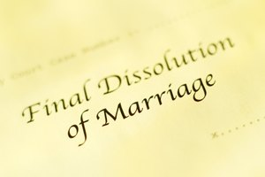 Marriage dissolution documents are public records.