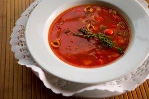 Cómo recalentar la sopa de ayer