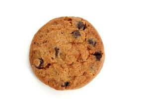 Datos nutricionales de las galletas de avena y pasas