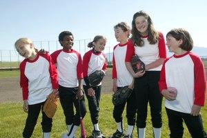 Ejercicios divertidos para principiantes de softbol
