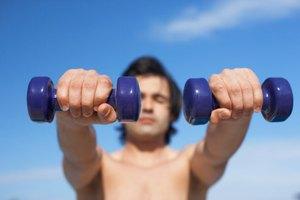 ¿Qué músculos trabajan las elevaciones frontales?