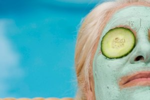 How to Make an Easy Cucumber Face Mask for Kids