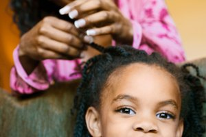 How to Make the Ends of Your Kinky Twists Curly