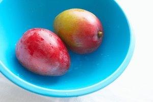 Información nutricional del mango deshidratado