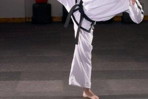 Niveles de cinta negra en karate
