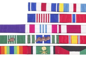 How to Mount Marine Corps Ribbons