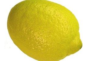 ¿Los limones contienen fructosa?