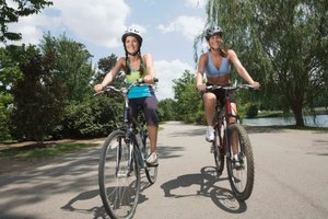 Ejercicios en bicicleta contra la caminata