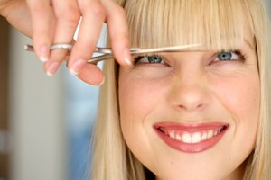 How to Fix Blunt Bangs