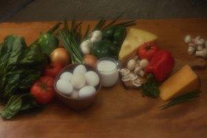 ¿Cuántas calorías hay en un omelette de verdura?