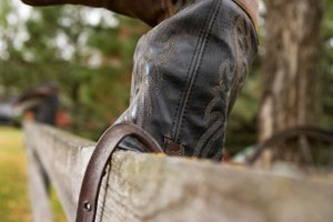 How to Make Cowboy Boots Slip on Easier