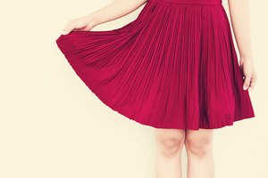 How to Sew a Kick Pleat to Cover a Split in a Skirt