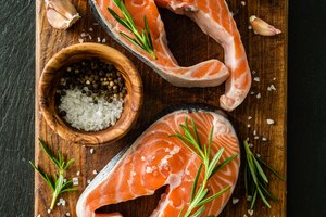 How to Cook a Very Thick Salmon Steak