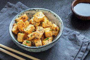 How to cook tofu in microwave