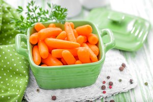 How to Freeze Bags of Baby Carrots
