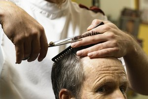 How to Use Thinning Shears When Cutting Men's Hair