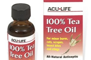 How to Treat Cold Sore With Tea Tree Oil
