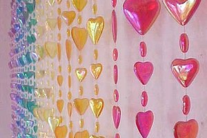 How to Make a Beaded Doorway Curtain