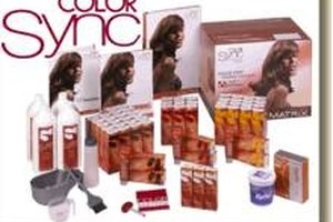 How to Use Matrix Color Sync Hair Color on Gray Hair