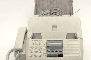 How to Use a Sharp UX-510 Fax Machine