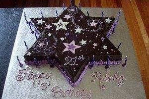 How to Make a Star-Shaped Cake