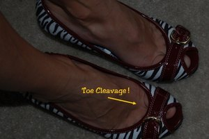 How to Avoid unattractive Toe Cleavage