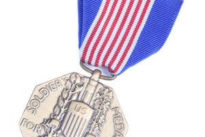 Military Medals in Order of Importance